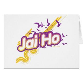 Jai Ho Greeting Card
