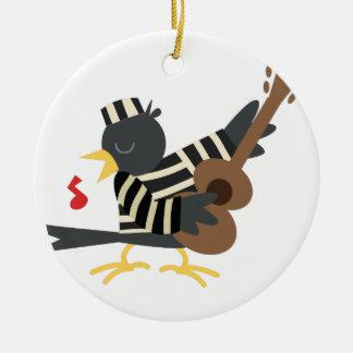 Jail Bird Christmas Ornament