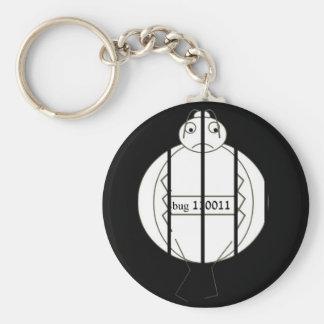 Jail bug key chains