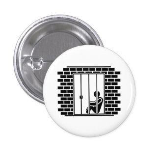 'Jail Time II' Pictogram Button