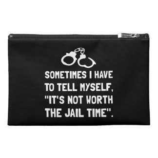 Jail Time Travel Accessories Bag