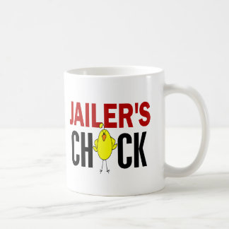 JAILER'S CHICK BASIC WHITE MUG