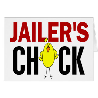 JAILER'S CHICK CARD