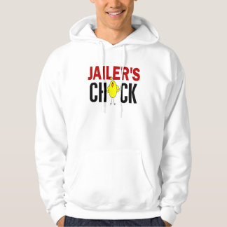 JAILER'S CHICK HOODED PULLOVER
