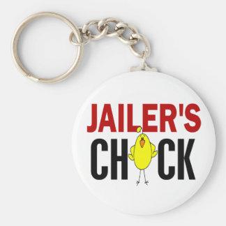 JAILER'S CHICK KEYCHAIN
