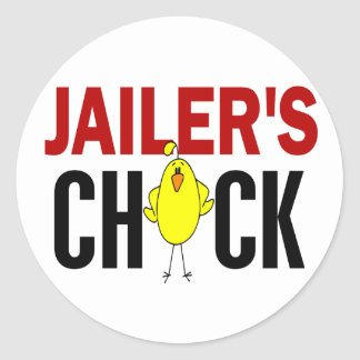 JAILER'S CHICK STICKERS