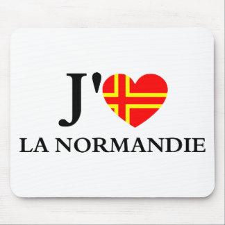 J'aime la Normandie Tapis De Souris