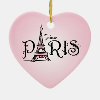 J'aime Paris Ornament