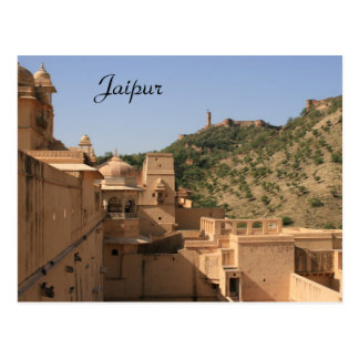 jaipur fort postcard