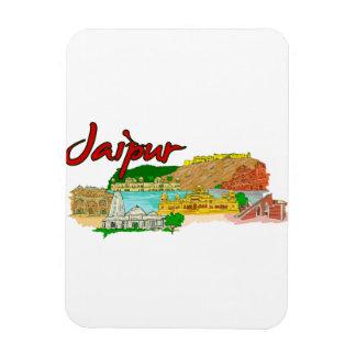Jaipur - India png Flexible Magnet