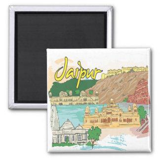 Jaipur Square Magnet