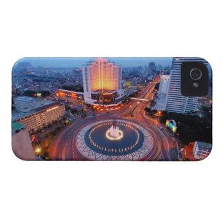 Jakarta Cityscape iPhone 4 Cases