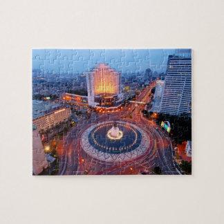 Jakarta Cityscape Jigsaw Puzzle