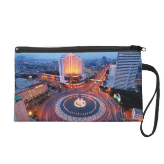 Jakarta Cityscape Wristlet