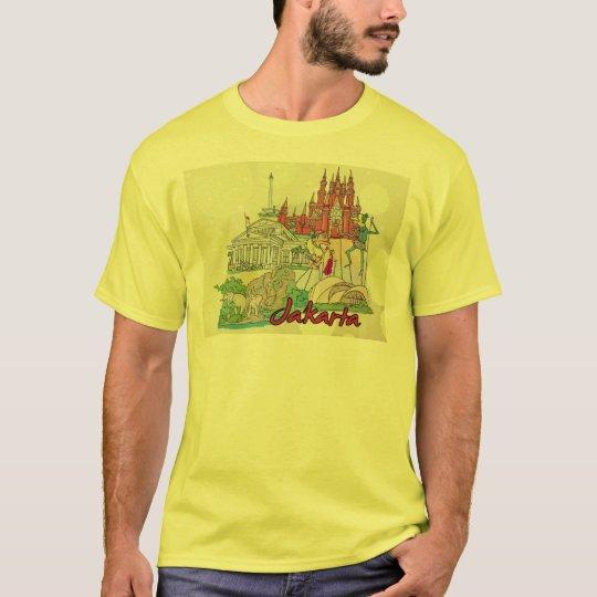 jakarta landmarks tshirt