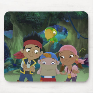 Jake and the Neverland Pirates | Treasure Map Mouse Mat
