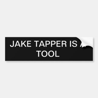 Jake Tapper Bumper Sticker