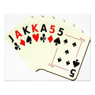 JAKKA55 Cards Personalized Invite