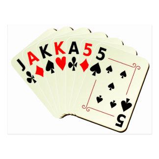 JAKKA55 Cards Postcards