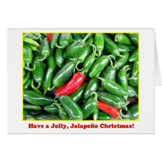 Jalapeno Christmas Card