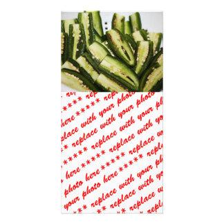 Jalapeno Halves Personalized Photo Card