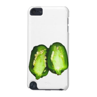 Jalapeno Pepper Two halves green pepper design iPod Touch 5G Cases