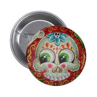 Jalapenos verdes 6 cm round badge