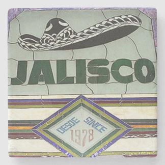 Jalisco, Buckhead Atlanta Marble Stone Coaster. Stone Coaster