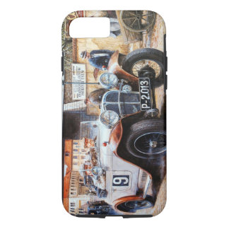Jalopy racing car painting iPhone 7 case