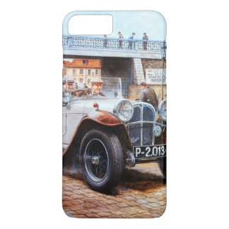 Jalopy racing car painting iPhone 7 plus case
