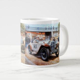 Jalopy racingcar painting jumbo mug