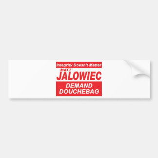Jalowiec 2010 Campaign Sign DB Bumper Stickers