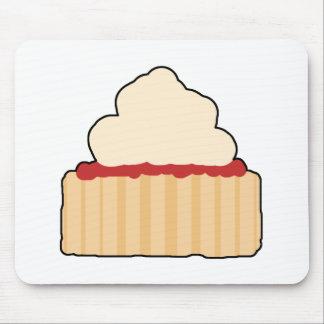 Jam and Cream Scone. Mousepad