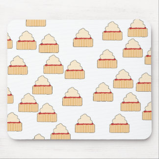 Jam and Cream Scone pattern. Mouse Pad