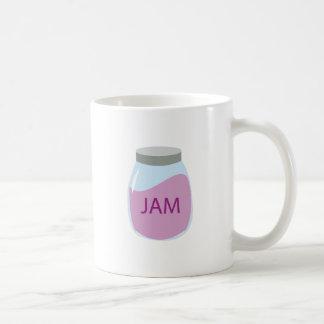 Jam Jar Basic White Mug