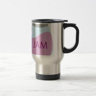 Jam Jar Stainless Steel Travel Mug