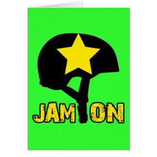 Jam On Greeting Card