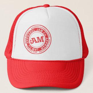 JAM- red stamp Trucker Hat