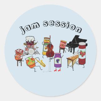 Jam Session Stickers