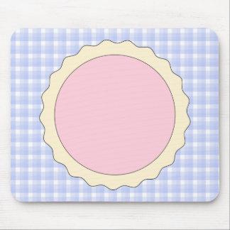 Jam Tart. Pale Pink. Mouse Pad