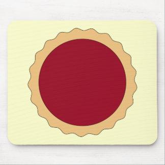 Jam Tart. Raspberry Red. Mouse Pad