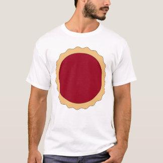 Jam Tart. Raspberry Red. T-Shirt