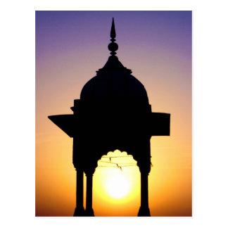 Jama Masjid, Old Delhi, India Postcard