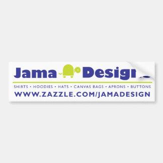 JamaDesigns Bumper Sticker