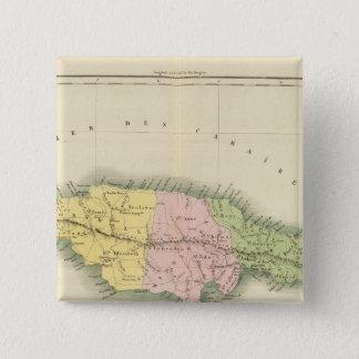 Jamaica 2 15 cm square badge