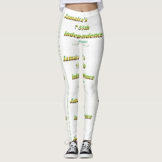 Jamaica 50th Leggings - White