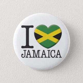Jamaica 6 Cm Round Badge