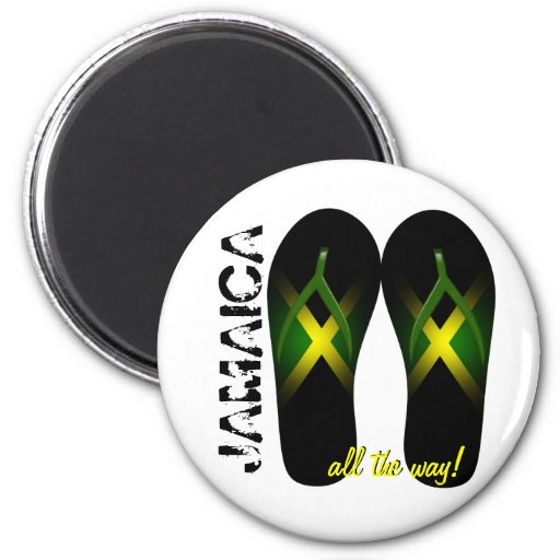 Jamaica All the Way Magnet