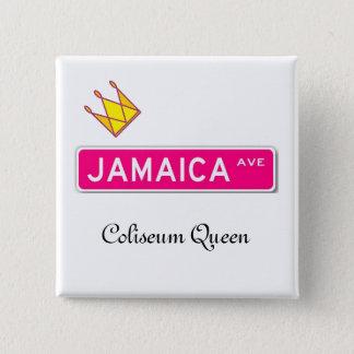 Jamaica Avenue Coliseum Queen Button