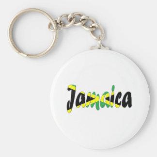 Jamaica Basic Round Button Key Ring